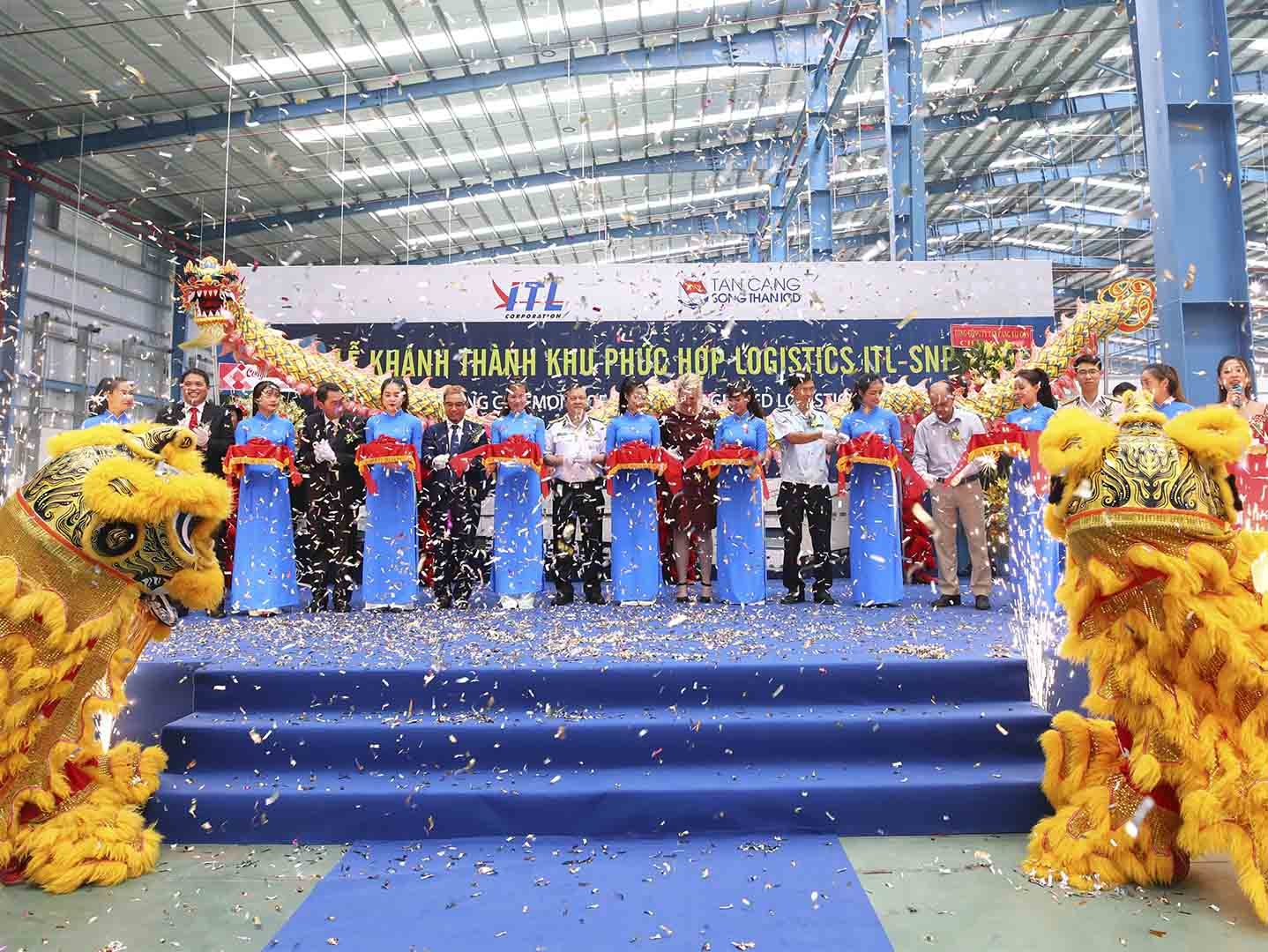 GRAND OPENING CEREMONY OF ITL-SNP INTEGRATED LOGISTICS COMPLEX